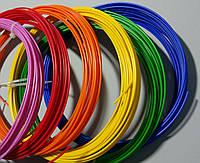 АБС пластик 1,75 мм для 3д ручки, 25 грамм, 10  м. (разные цвета)