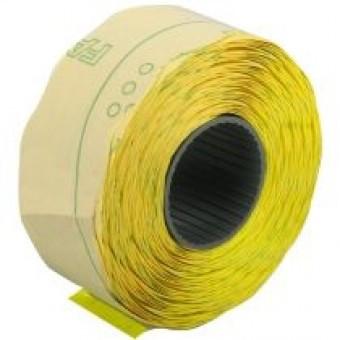 Ценники 22х12мм 1000шт желтые