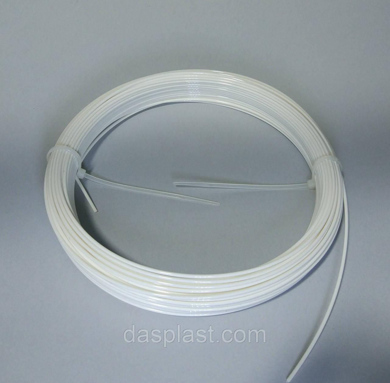 ПЛА пластик для 3д ручек - белый (PLA нить 1.75 мм)