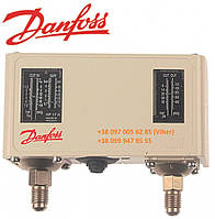 Реле давления (прессостат) Danfoss KP17W60-1275 диапазон -0,2 до +7,5 бар (арт. 541469)