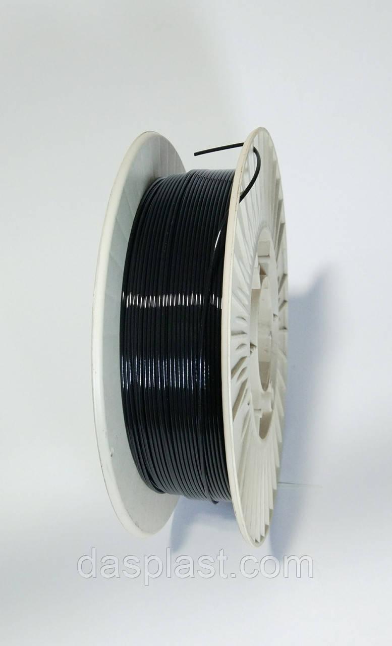 PLA пластик 500 г, черный  1.75 мм,