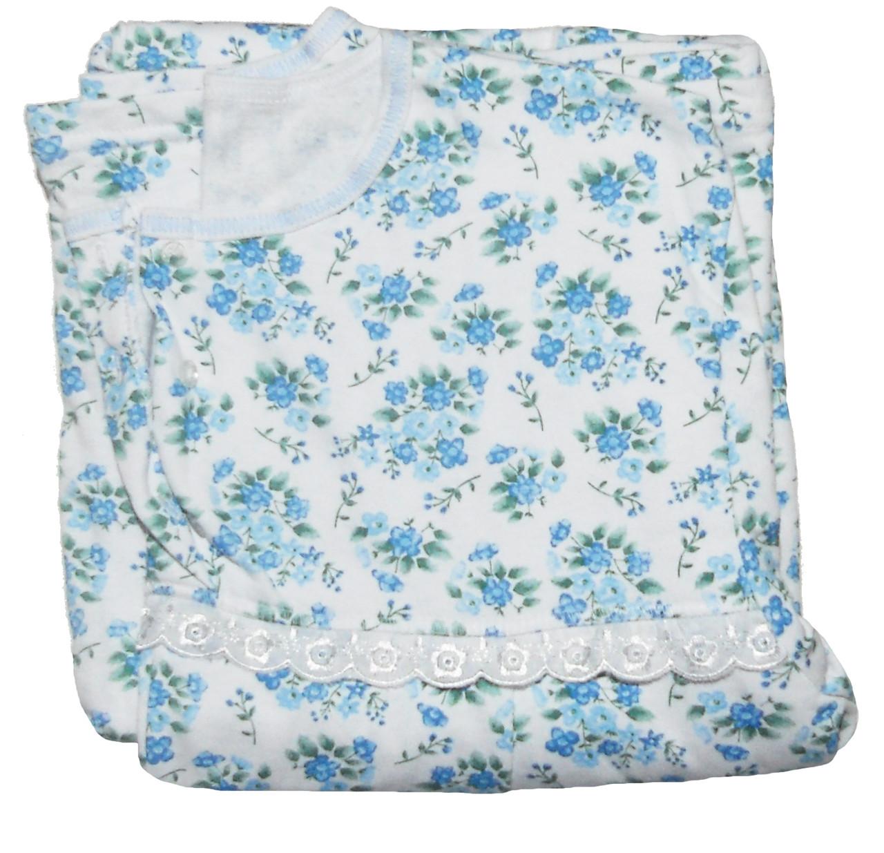 24e5b056d0e9 Ночная рубашка теплая 03271 Пуговка для беременных, в роддом, р.р.46-48,  цена 275 грн., купить в Днепре — Prom.ua (ID#341520893)