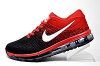 Мужские кроссовки Nike Flyknit Air Max 2018, Red\Black