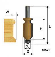 Фреза кромочная фигурная ф22.2х41, хв. 12мм