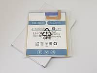 Аккумулятор NB-5031 Nomi i5031 Evo X1 2150mAh Оригинал