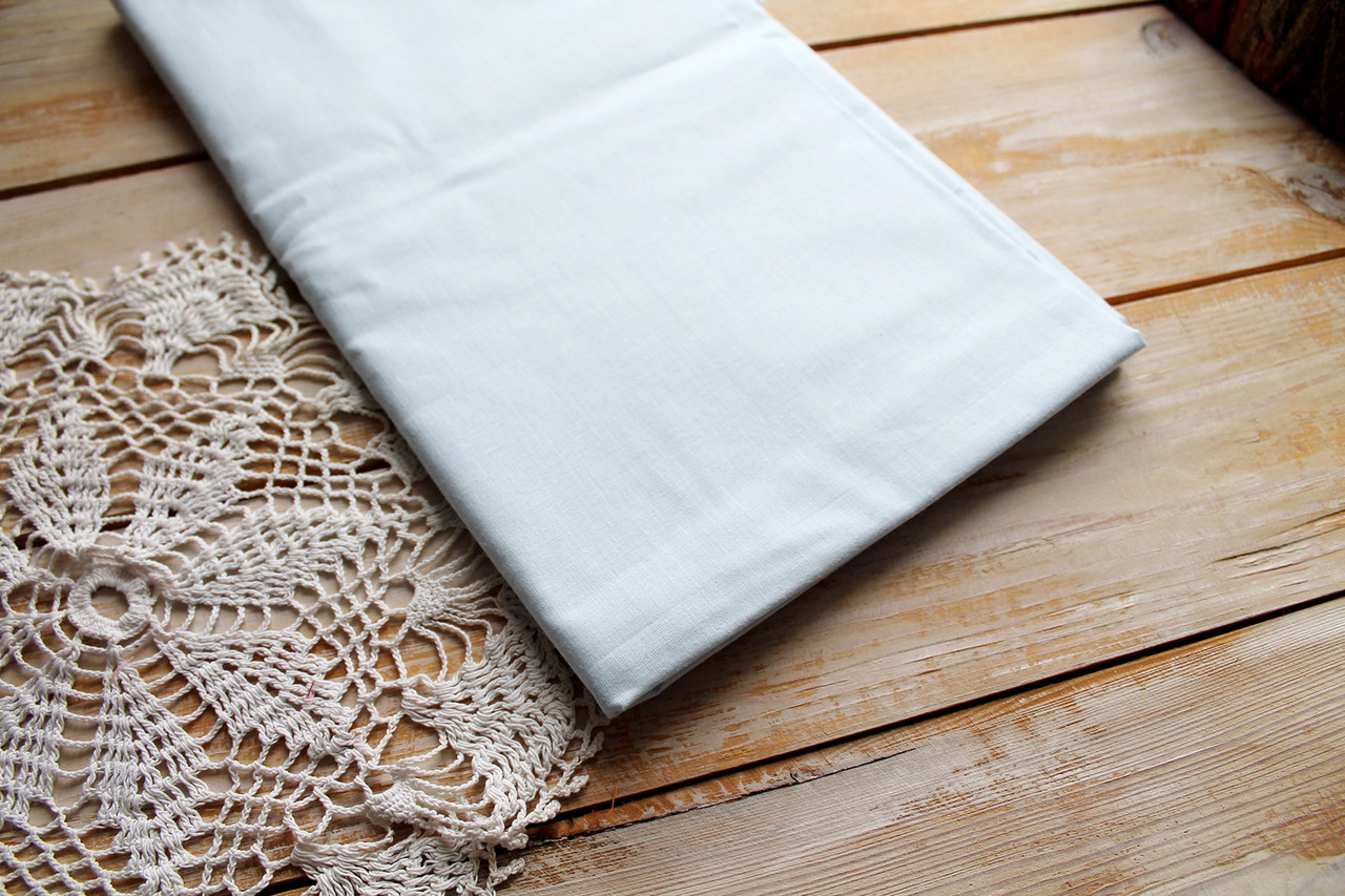 Лоскут ткани 50х80 см светло серая (польский хлопок)