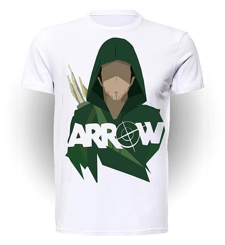 Футболка  GeekLand Стрела Arrow Стрела мишень art A.01.019