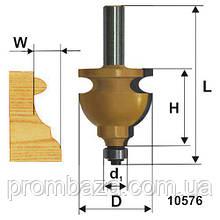Фреза кромочная фигурная ф44.5х28, хв. 12мм