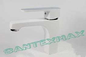 Смеситель для раковины Mixxus Missouri White 001 Белый