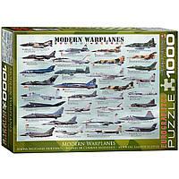"""Пазл """"Современные военные самолеты"""" 1000 элементов EuroGraphics (6000-0076)"""