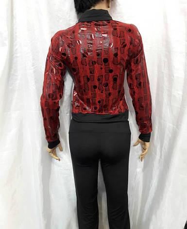 Костюм женский спортивный турецкого производства красный с черным, фото 2