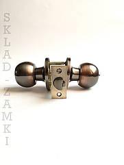 Дверной замок-защелка круглая ручка Mondial АС