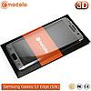 Защитное стекло Mocolo Samsung Galaxy S7 Edge 3D (Silk Silver)