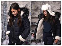 """Курточка зимняя для девочки """"Аляска"""" 128-152 см"""