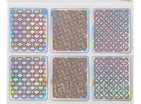 Трафареты для дизайна на липкой основе K21
