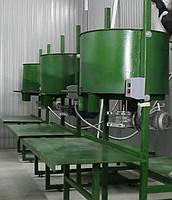 Смеситель миксер для производства резиновой плитки