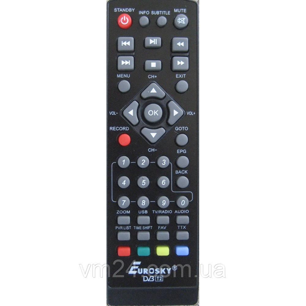 Пульт д/у  (DVB-T2) Eurosky