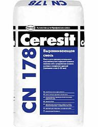 """CN-178/25 кг """"Ceresit"""" Смесь легковыравниваемая (15-80 мм) 25 кг"""