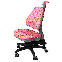 Кресло Стул Ройс Киндер, розовое, comf-pro , фото 1
