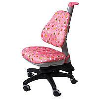 Кресло Стул Ройс Киндер, розовое, comf-pro