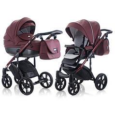 Детская универсальная коляска 2 в 1 Mioobaby Zoom Black Edition