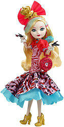 Ever After High Way Too Wonderland Apple White Doll Эппл Уайт Кукла Эвер Афтер Хай Дорога в Страну Чудес