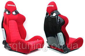 Спортивное сиденье CUGA BRIDE (Красное, Ткань)
