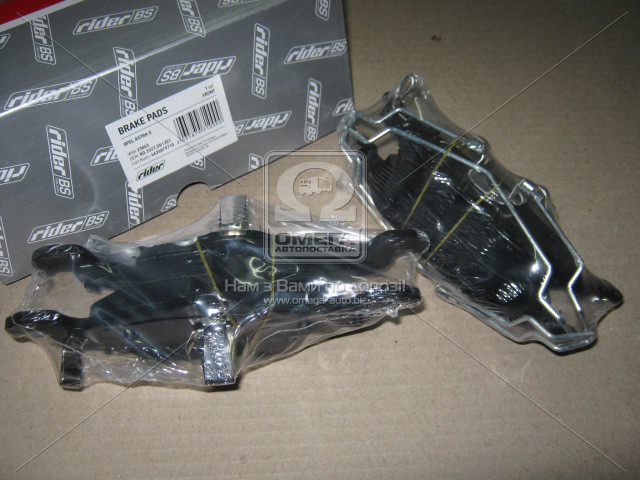 Колодки тормозные дисковые OPEL ASTRA G передние (Rider). RD.3323.DB1351