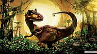 Картинка вафельная А4 Динозавр