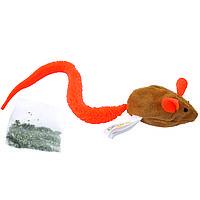 Coastal (Костал) Turbo Tail Mouse Мышь с кошачьей мятой игрушка для кошек, фото 1