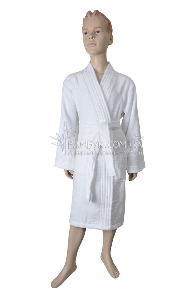 Подростковый халат для мальчика (хлопок) Nusa