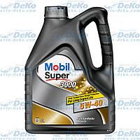 Масло Mobil Super 5W40 4л