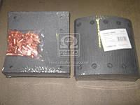 Накладка тормозная (комплект на ось) 420х200 3-й ремонт BPW, DAF SB, SAF (Rider). RD 19094Rem3