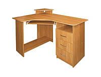 Угловой компьютерный стол Компакт для дома и офиса