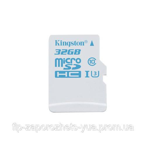 Карта памяти 32 GB microSD Kingston UHS-I U3 Class10 (SDCAC/32GB)