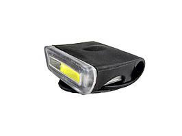 LED Фара/фонарь для велосипеда в силиконовом чехле со встроенным аккумулятором