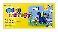 Пастель масляная Mungyo 16 цветов Mini