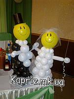 Фигурки жениха и невесты настольные