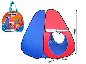 Детская игровая палатка 3058 в сумке