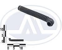 Трубка защитная проводов двери гофра тонкая г-образная (AWEL). КР-6