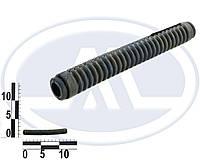 Трубка защитная проводов двери гофра тонкая прямая (AWEL). КР-5