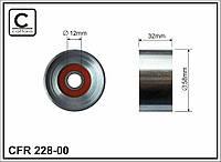 Ролик опорный ремня ГРМ Lexus IS I 99-05 (CAFFARO). 228-00