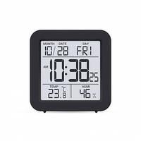 Термогигрометр с часами и будильником Т-15 (влажность + температура)