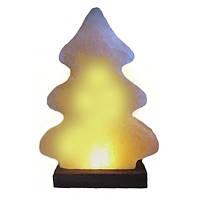 Ёлка соляная лампа, светильник, ночник
