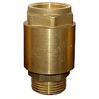 """Клапан обратный Aquatica 1""""Mx1""""F (латунь) euro (779655)"""