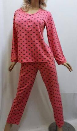 Трикотажная женская пижама со штанами. Размеры от 44 до 52 р-ра, Харьков, фото 2