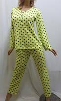 Трикотажная женская пижама со штанами. Размеры от 44 до 52 р-ра, Харьков, фото 3