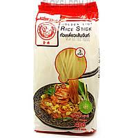 Лапша рисовая 3мм Золотой лев 0,4 кг. Таиланд