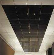 Стеклянные потолки.потолок из безопасного стекла.
