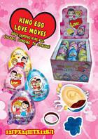 Шоколадное яйцо пластиковое Love... (Любовь это)